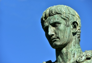 Caesar Augustus, first emperor of Rome