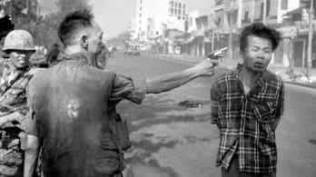 Executing Viet Cong Prisoner